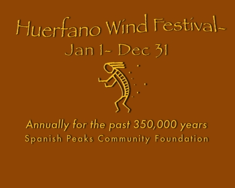 Spanish Peaks Community Foundation Wind Festival shirt