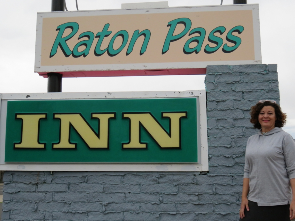Laurie 'Bunny' Bunker's Raton Pass Inn is the first to bid you welcome as you enter and the last to bid you farewell as you leave Raton.  Photo by  Colette M. Armijo.