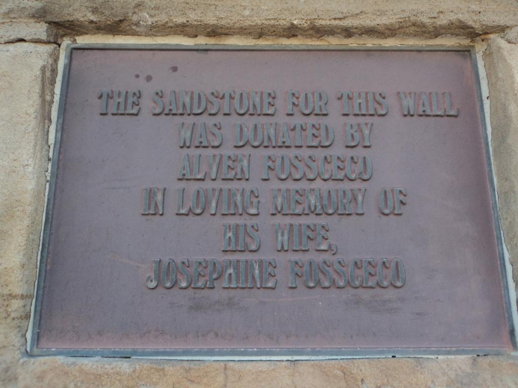 1625 HC Newman History Detective sandstone plaque