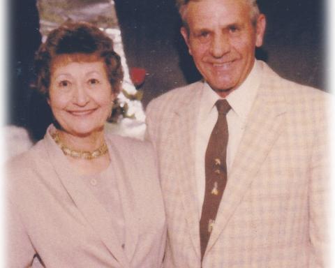 Jeanette and Alvin Booze
