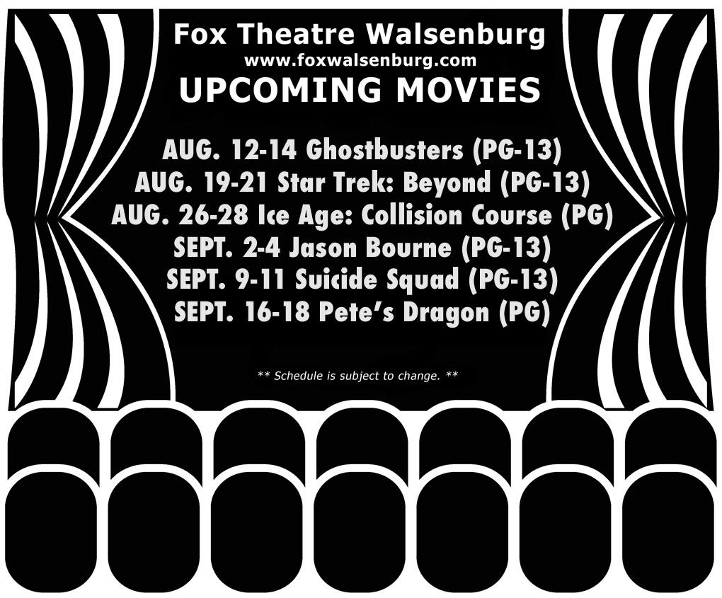1632 Fox Theatre movies