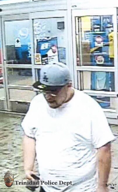 Trinidad police looking for suspect in credit card fraud for Gardner white credit card login