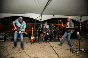 Rockin' out at Santa Fe Trail Days