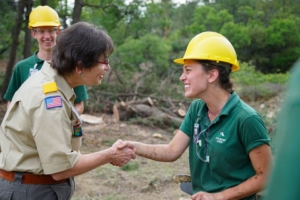 BSA National Commissioner visits Philmont Scout Ranch in wake of fire