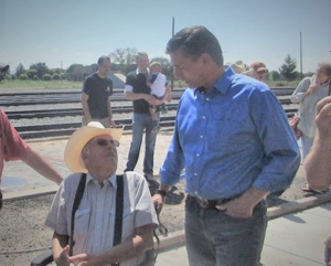 Heinrich says Raton gets to keep the Southwest Chief