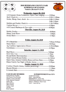 Come to the 2018 Colfax County Fair & Rodeo August 6 – 12 in Springer, NM, plus special inite to the Jr. Livestock sale Saturday, August 11