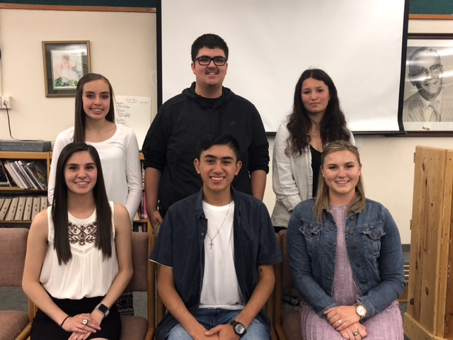 Raton High School elected student senate officers