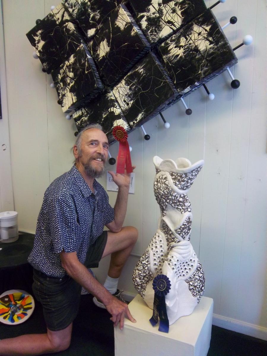 Blue Ribbon – Raggio wins at state fair for artwork