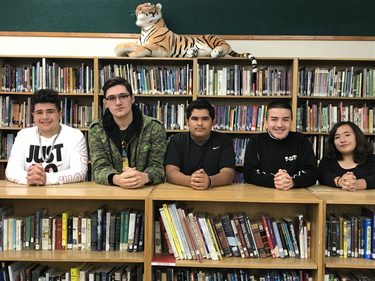 Raton High School's students of the month for October
